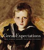 Great expectations : John Singer Sargent painting children