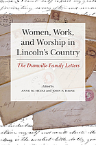 Women, work, and worship in Lincoln's Country : the Dumville family letters