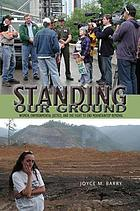 Standing our ground : women, environmental justice, and the fight to end mountaintop removal