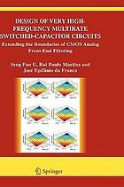 Design of very high-frequency multirate switched-capacitor circuits : extending the boundaries of CMOS analog front-end filtering