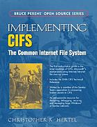 Implementing CIFS : the common Internet file system
