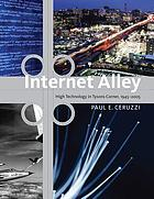 Internet alley : high technology in Tysons Corner, 1945-2005