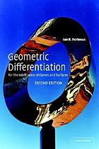 Geometric differentiation : for the intelligence of curves and surfaces