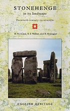 Stonehenge in its landscape : twentieth-century excavations
