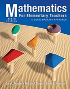 Mathematics for elementary teachers : a contemporary approach