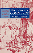 The power of commerce : economy and governance in the first British Empire