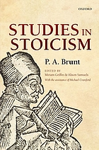 Studies in Stoicism