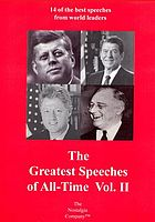 The greatest speeches of all-time. Volume II
