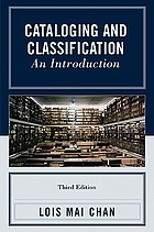 Cataloging and classification : an introduction