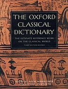 The Oxford classical dictionary,