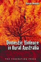 Domestic Violence in Rural Australia cover image