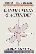 Lanthanides and actinides.