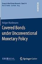Covered bonds under unconventional monetary policy