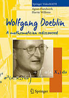 Wolfgang Doeblin : a mathematician rediscovered