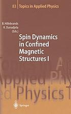 Spin dynamics in confined magnetic structures/ 1.