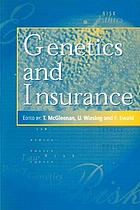 Genetics and insurance