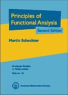 Principles of functional analysis