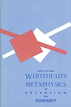 Whitehead's metaphysics of extension and solidarity