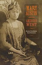 Mary Austin and the American West