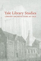 Yale library studies. Volume 1
