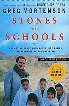 Stones into schools: promoting peace with books, not bombs ...
