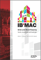 Brick and Block Masonry : Proceedings of the 16th International Brick and Block Masonry Conference, Padova, Italy, 26-30 June 2016.