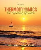 Thermodynamics : an engineering approach