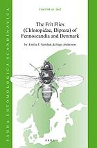 The frit flies (Chloropidae, Diptera) of Fennoscandia and Denmark