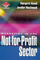Marketing in the not-for-profit sector