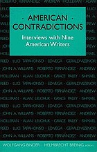 American contradictions : interviews with nine American writers