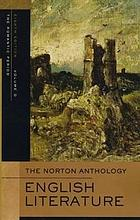 The Norton anthology of English literature. Volume D, The Romantic period