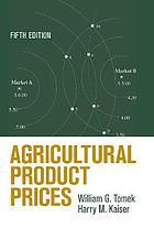 Agricultural Product Prices.