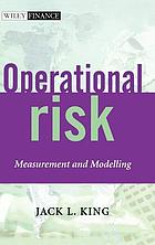 Operational risk : measurement and modelling