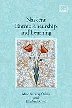 Nascent entrepreneurship and learning