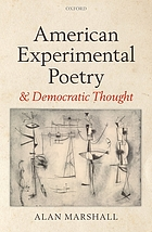 American experimental poetry and democratic thought
