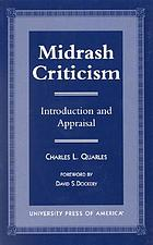 Midrash criticism : introduction and appraisal