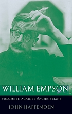 William Empson : against the Christians