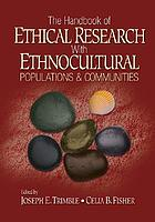 Handbook of Ethical Research With Ethnocultural Populations and Communities cover image