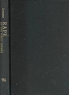 Rape on the public agenda : feminism and the politics of sexual assault