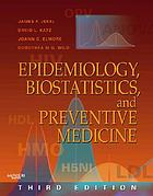 Epidemiology, biostatistics, and preventive medicine