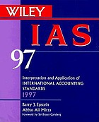 Interpretation and application of international accounting standards, 1997