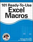 101 ready-to-use Excel macros