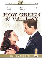 Richard Llewellyn's How green was my valley