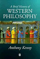 A brief history of western philosophy