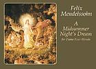 A Midsummer night's dream : for piano four hands