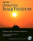 Operation Iraqi freedom : the inside story