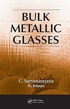 Bulk metallic glasses