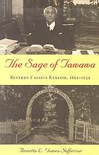 The sage of Tawawa : Reverdy Cassius Ransom, 1861-1959