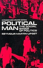 Political man : the social bases of politics