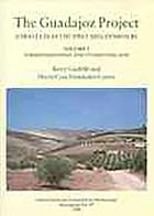 Torreparedones and its hinterland. Vol.1, The Guadajoz Project,: Andalucía in the first millennium BC